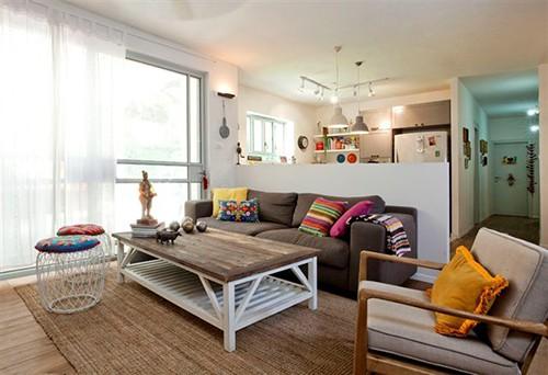 תכנון ועיצוב דירת גן 17