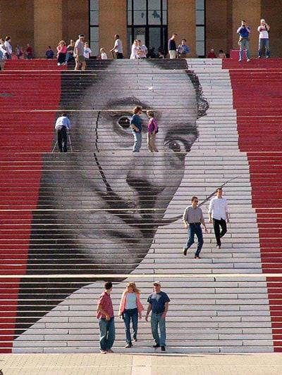 מדרגות אומנותיות