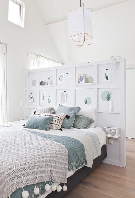 חיפוי קיר חדר שינה