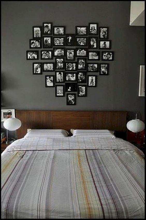 תמונות בחדר השינה