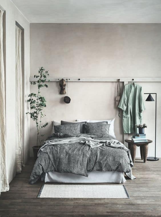 מתלה קיר חדר שינה